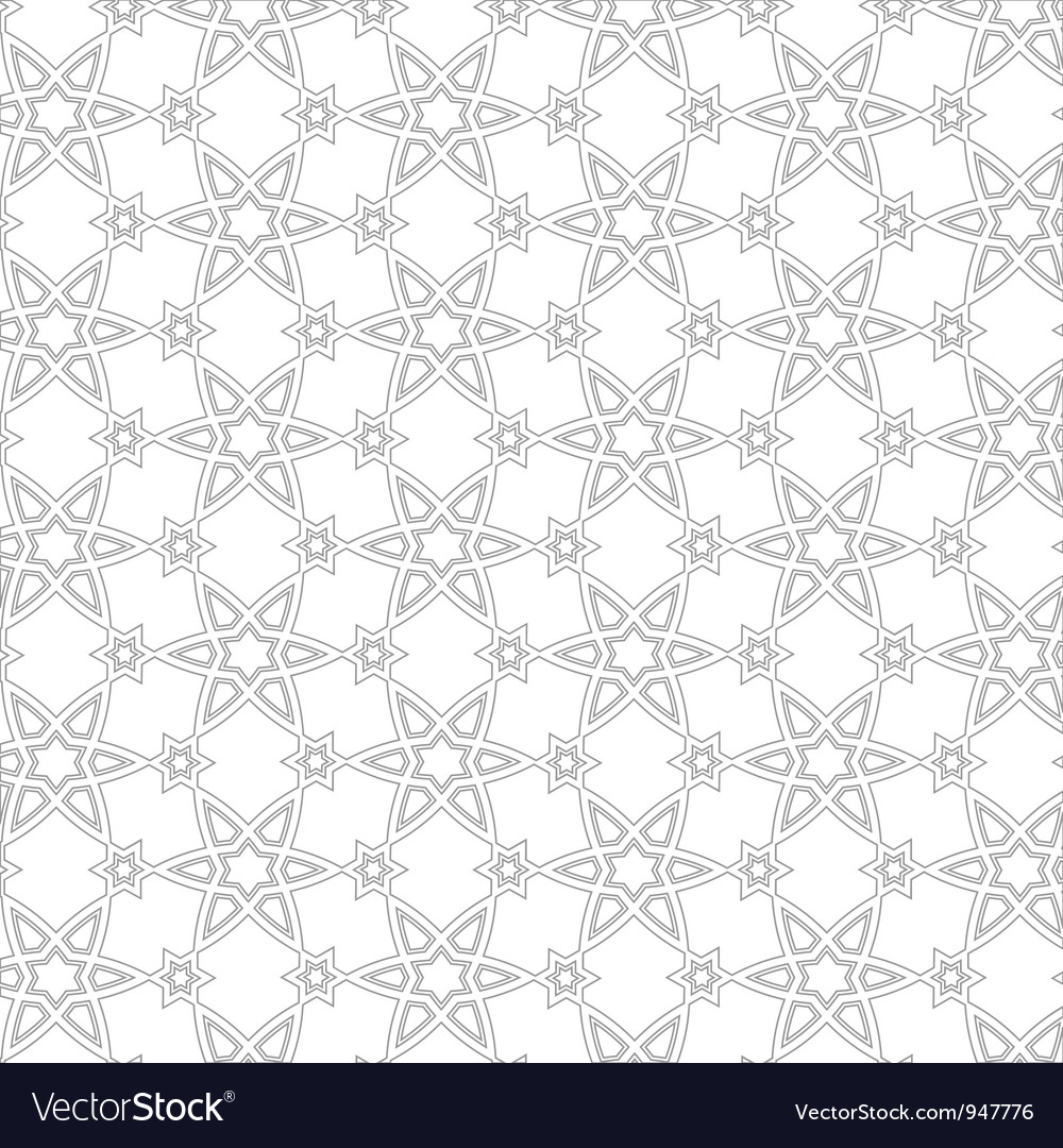 Delicate pattern in arabic style