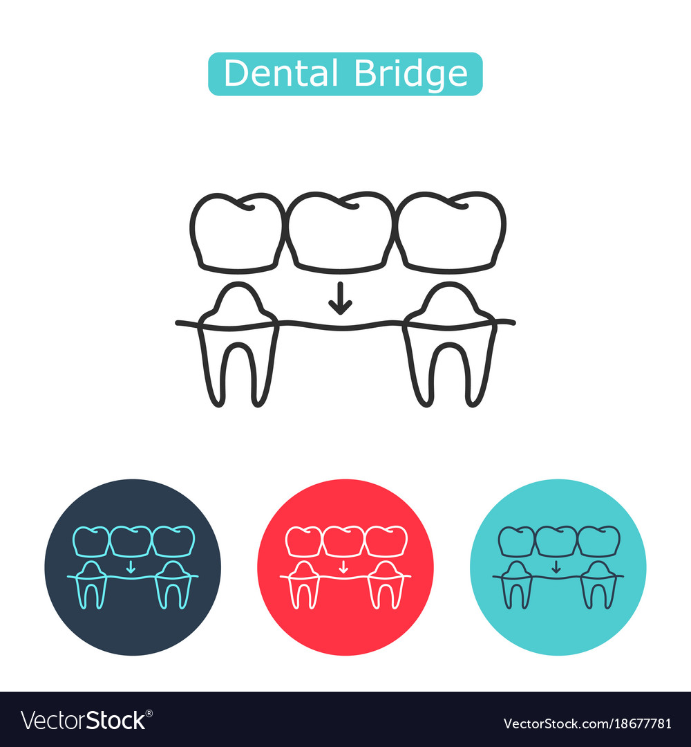 Bridges teeth icon