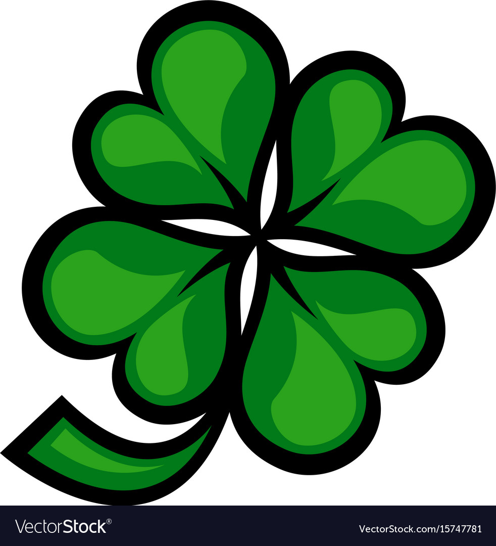 Lucky irish clover for st patricks day