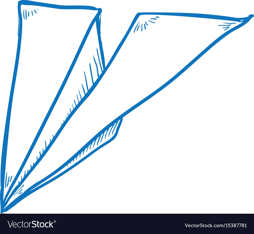 Paper airplane draw