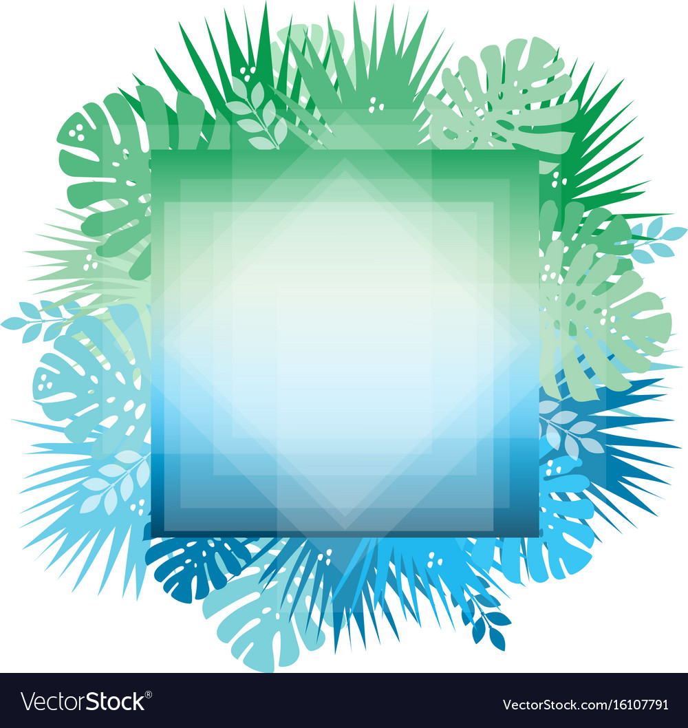 Abstract trendy template with gradient backgrounds vector image