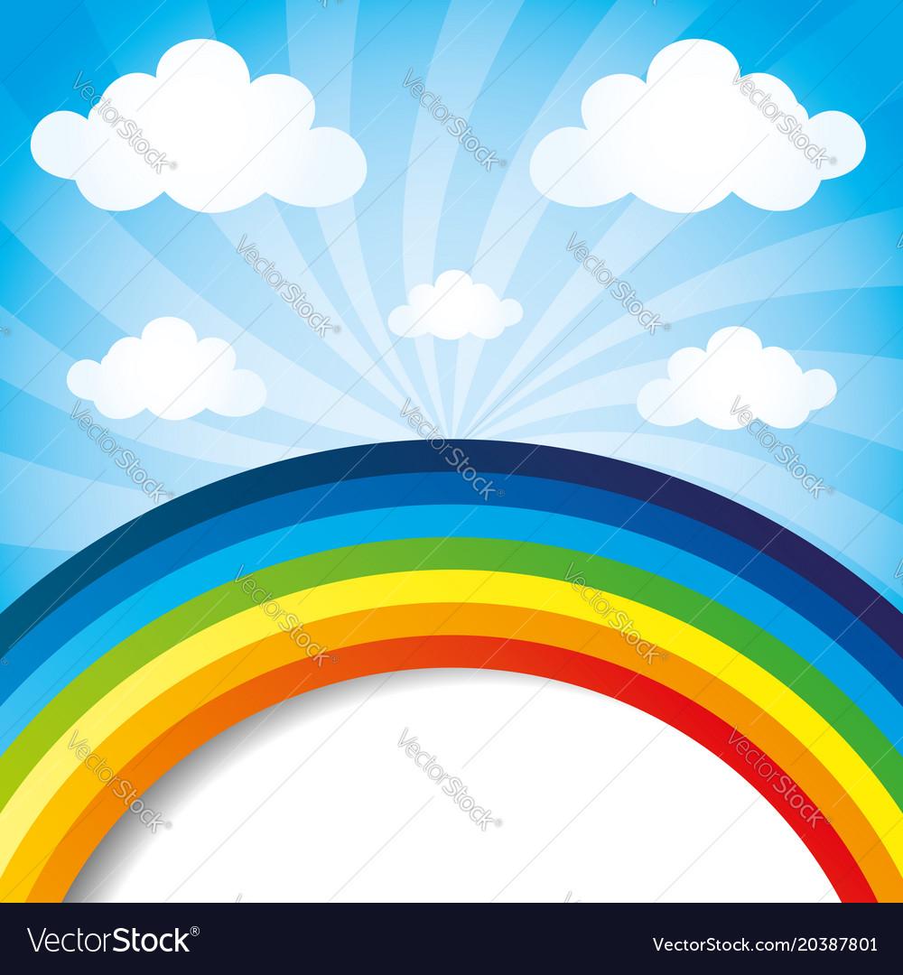 постеры с радугой чем