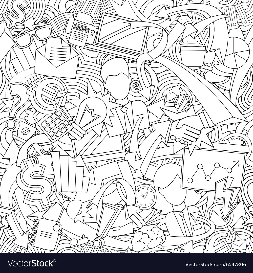 Endless office pattern
