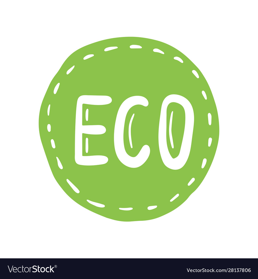 Organic product icon design symbol badges