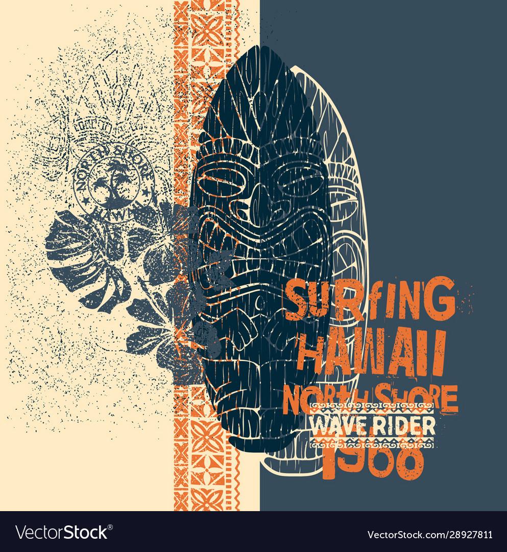 Tiki surf north shore hawaii