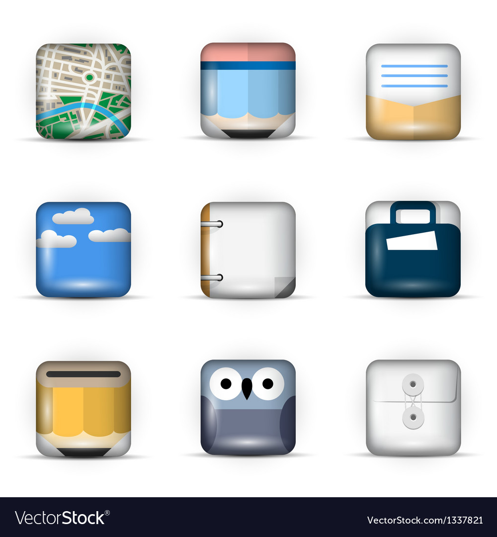 3D App Icons