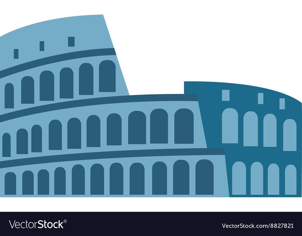 Coliseum isolated