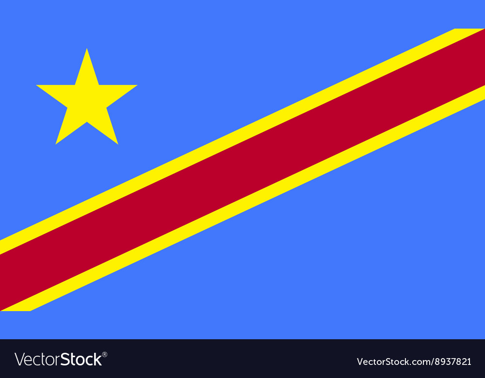Democratic Republic of the Congo flag image