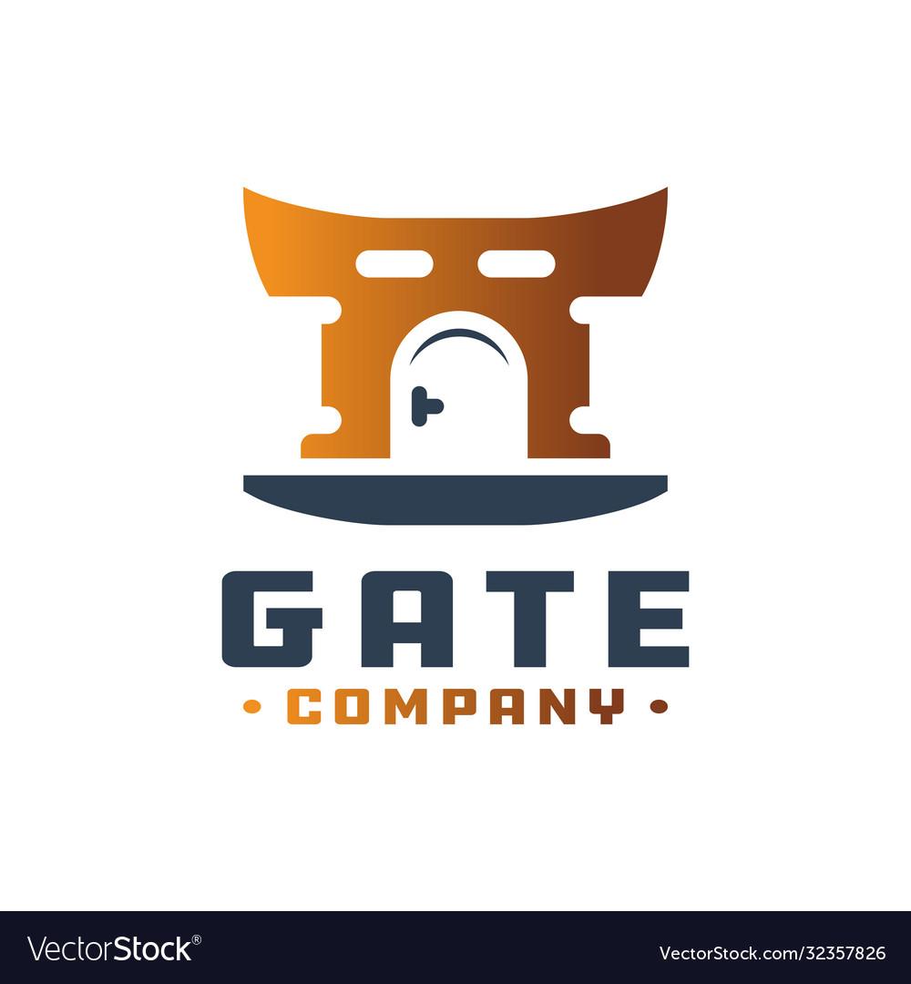 Door gate logo