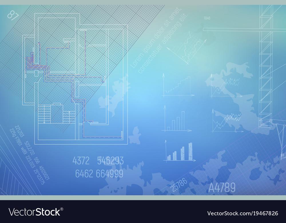 Hvac engineering drawing Royalty Free Vector Image | Hvac Drawing Images Free |  | VectorStock