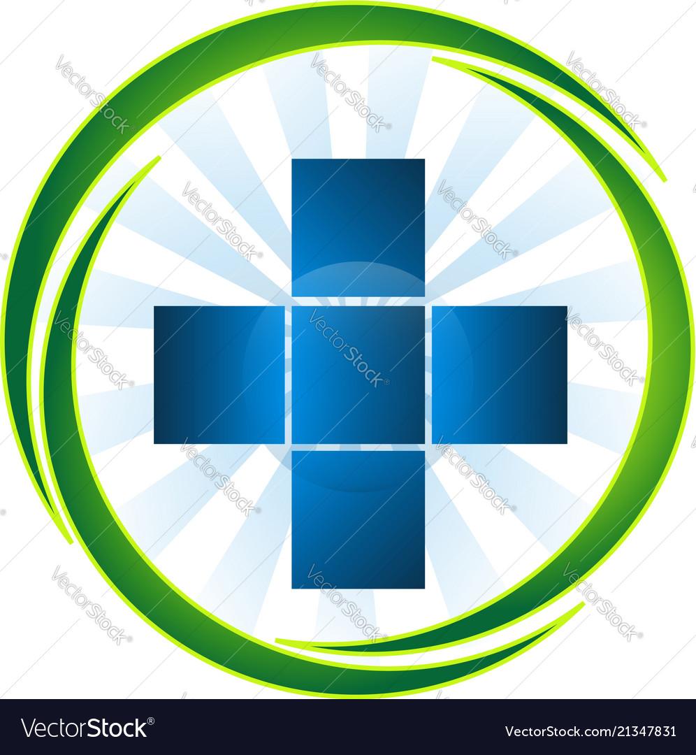 Medical emergency pharmacy cross icon