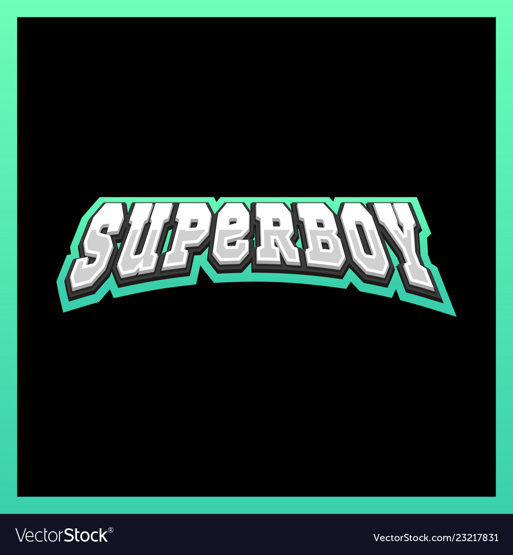 Super hero boy power full typography t-shirt
