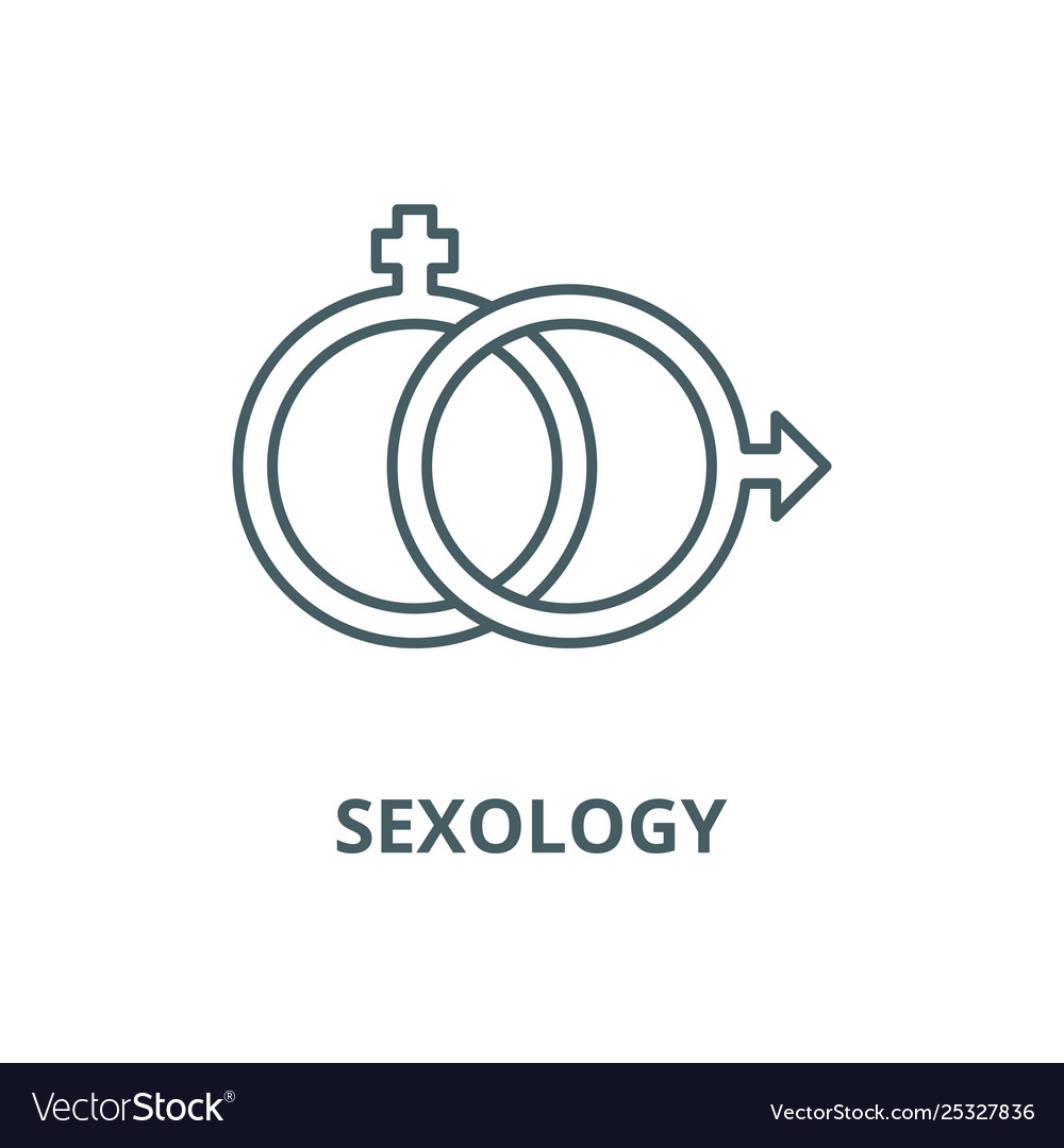 Sexology line icon linear concept outline