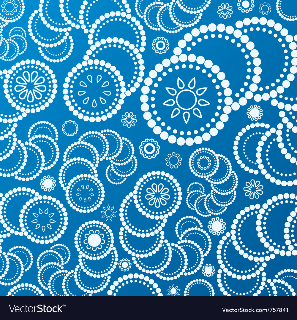 Abstract blue background pattern