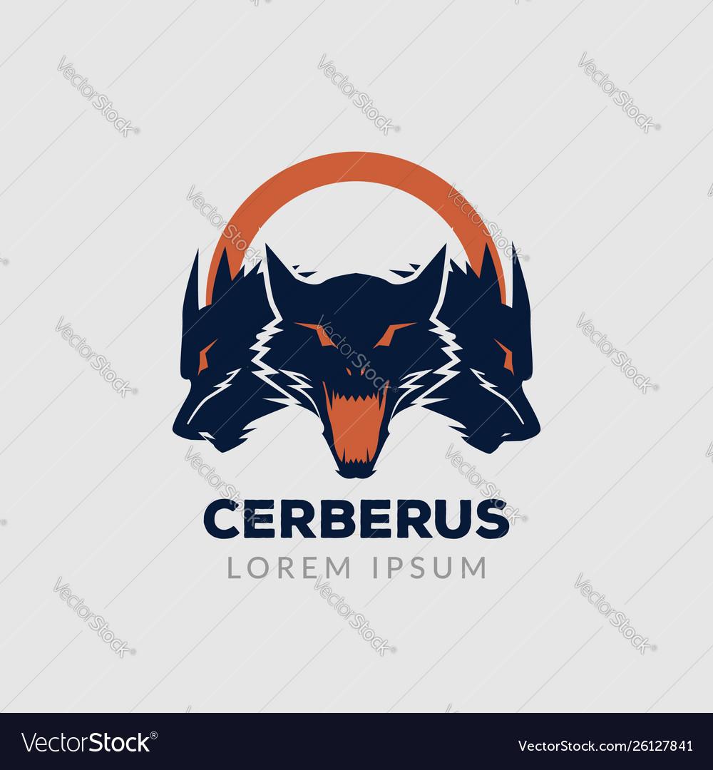 Cerberus guard logo sign symbol icon