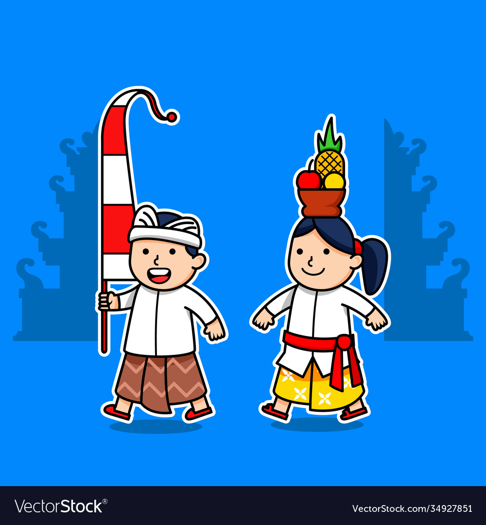 Bali Couple Vector Images 41