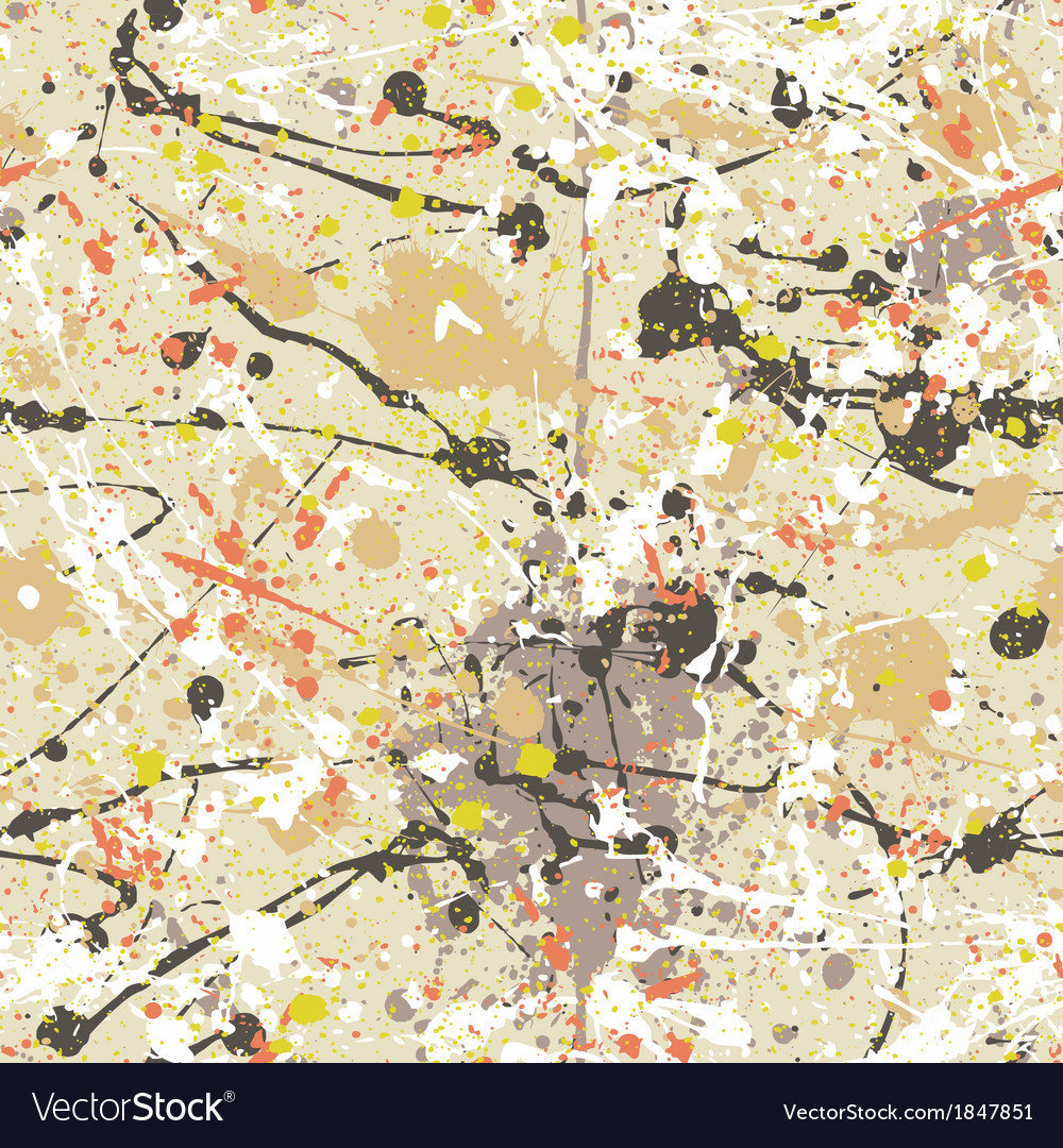 Splatter Paint Wallpaper Vector Image