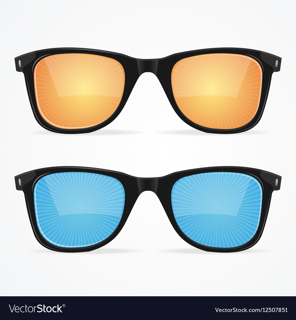 sunglasses hipster style royalty free vector image rh vectorstock com  free vector sunglasses silhouette