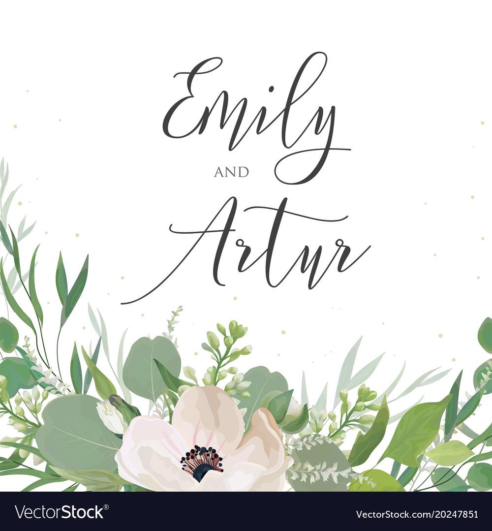 Wedding invitation invite save the date card
