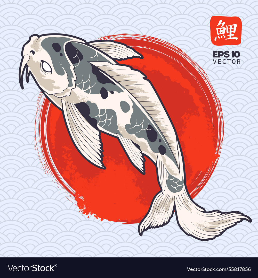 Koi fish art