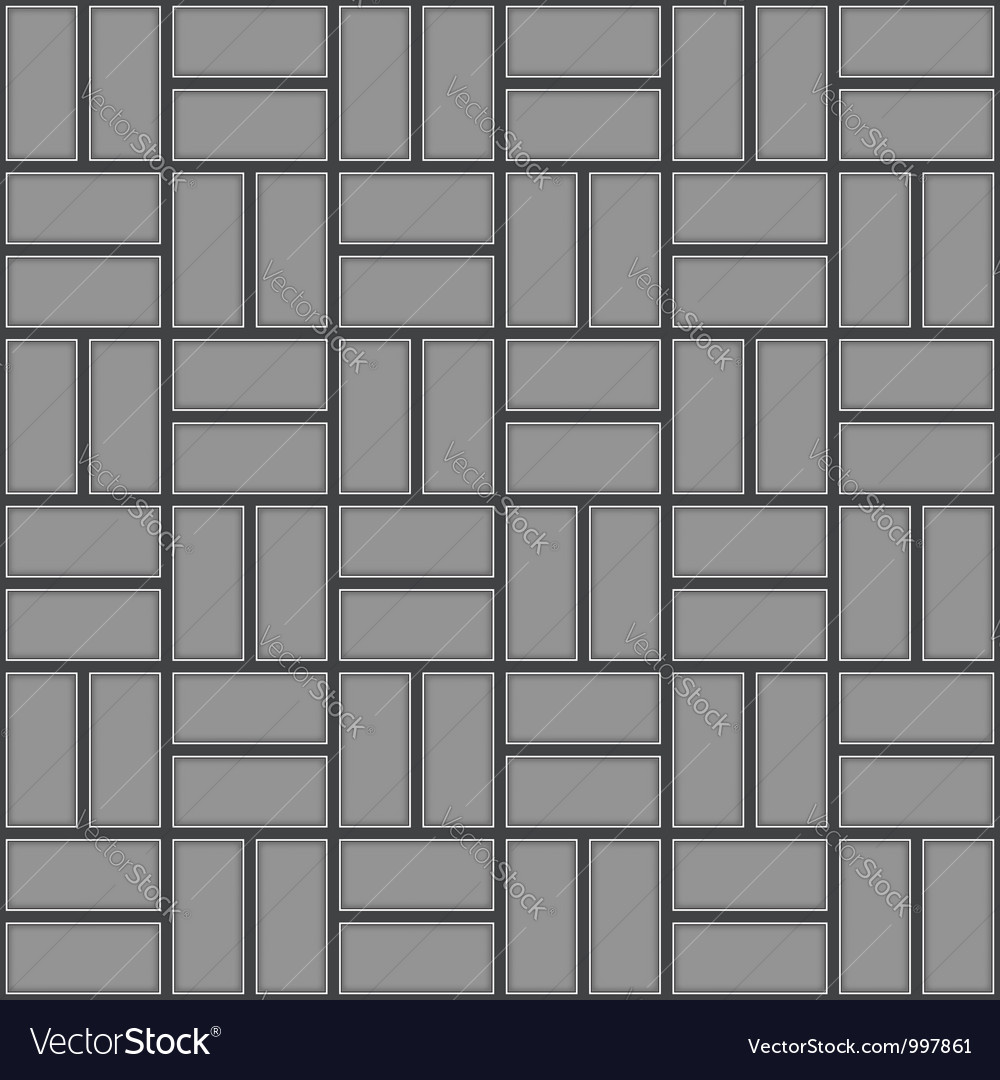 Pavement pattern vector image