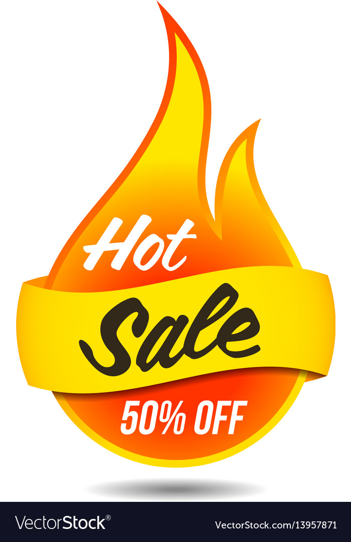 Hot sale flaming label