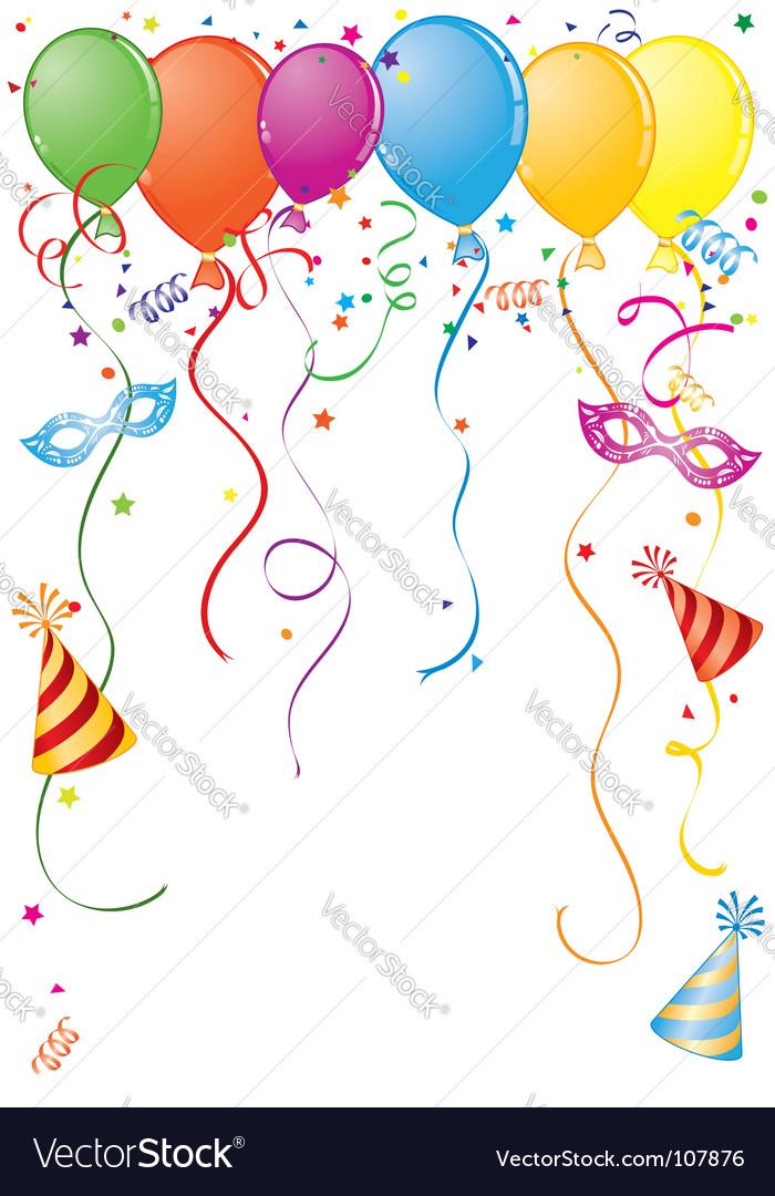 Birthday frame Royalty Free Vector Image - VectorStock