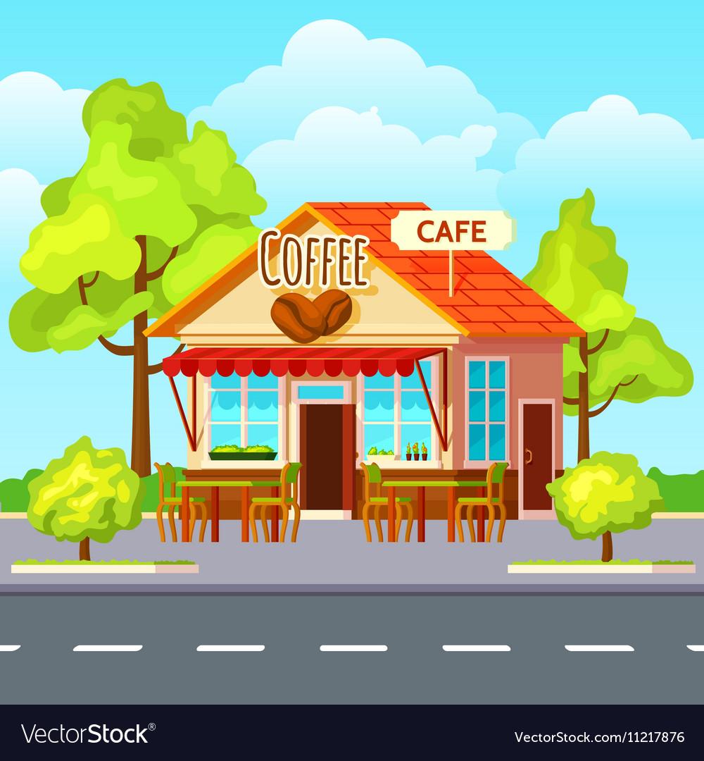 Картинки мультяшного кафе