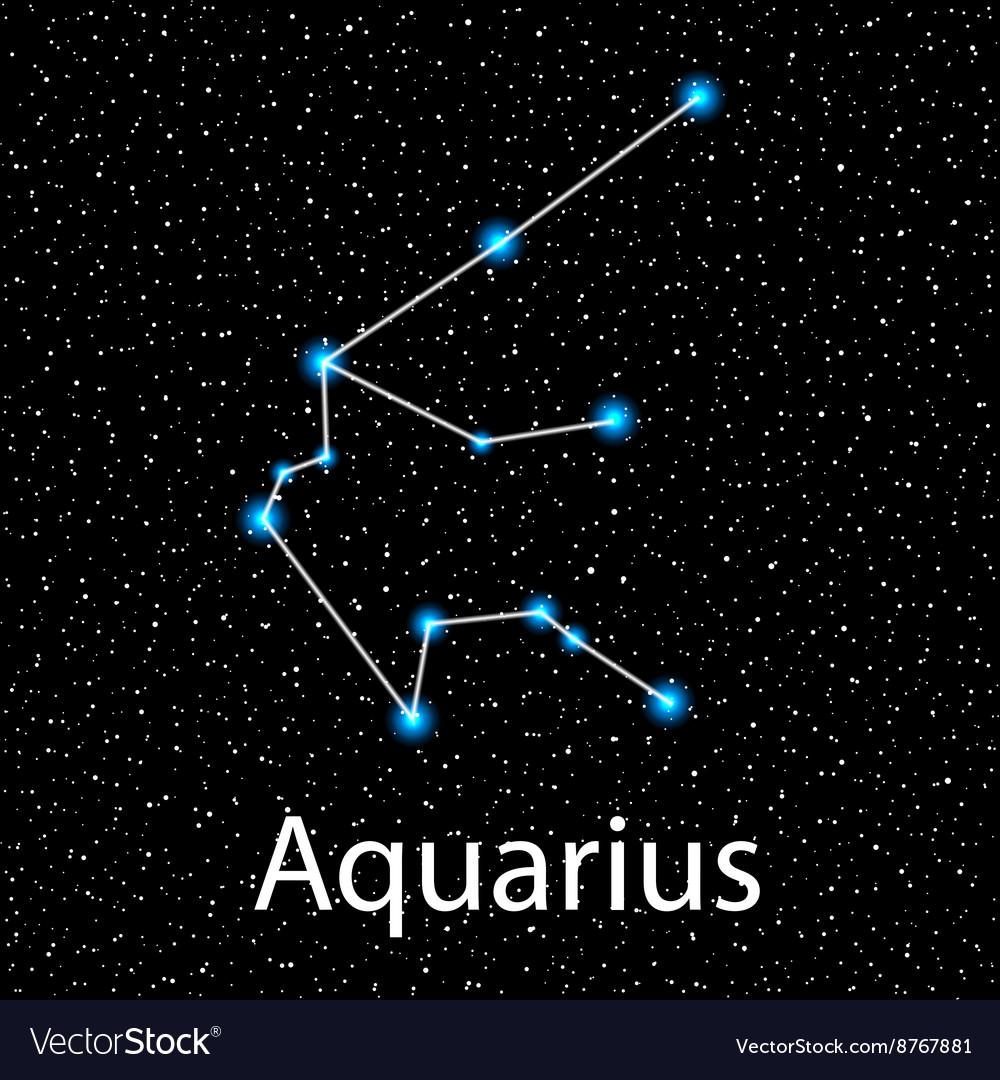 Картинка с созвездием водолей