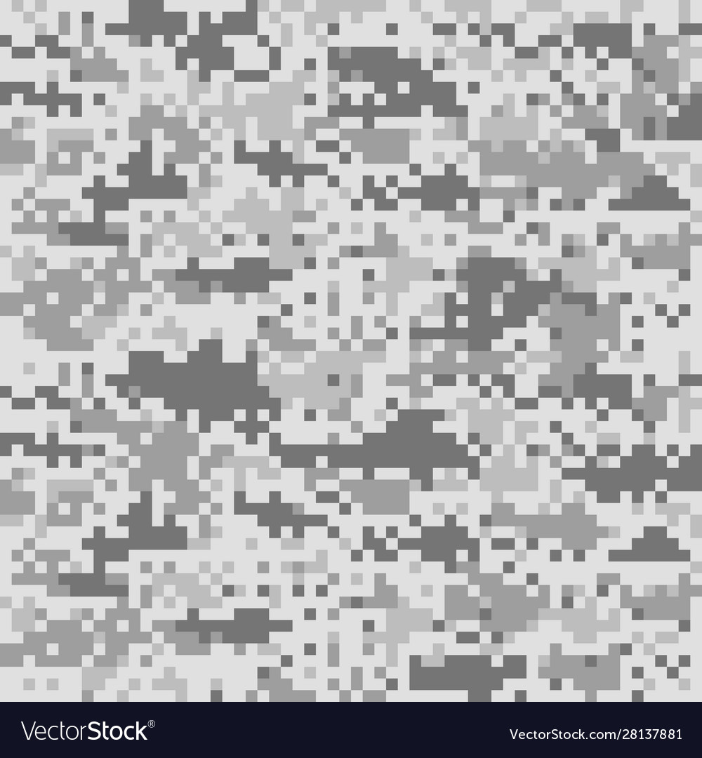 Digital camouflage pattern seamless camo texture