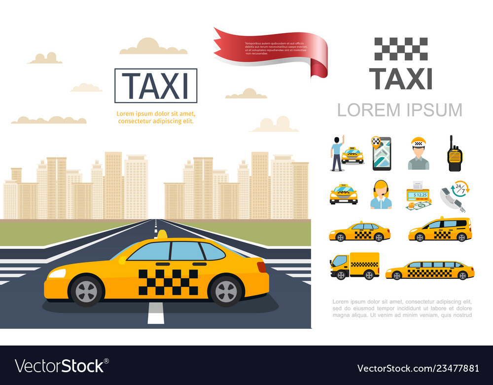 Flat taxi service composition