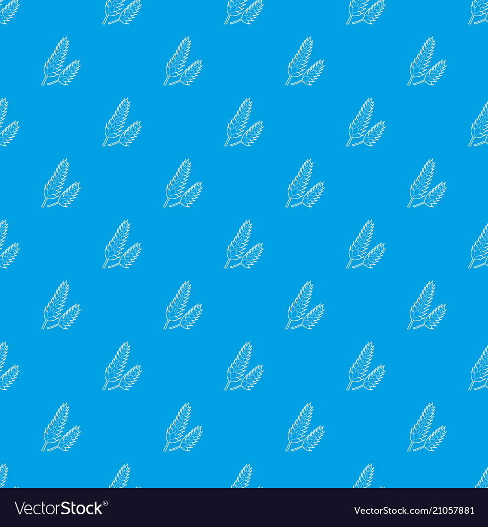 Spica pattern seamless blue