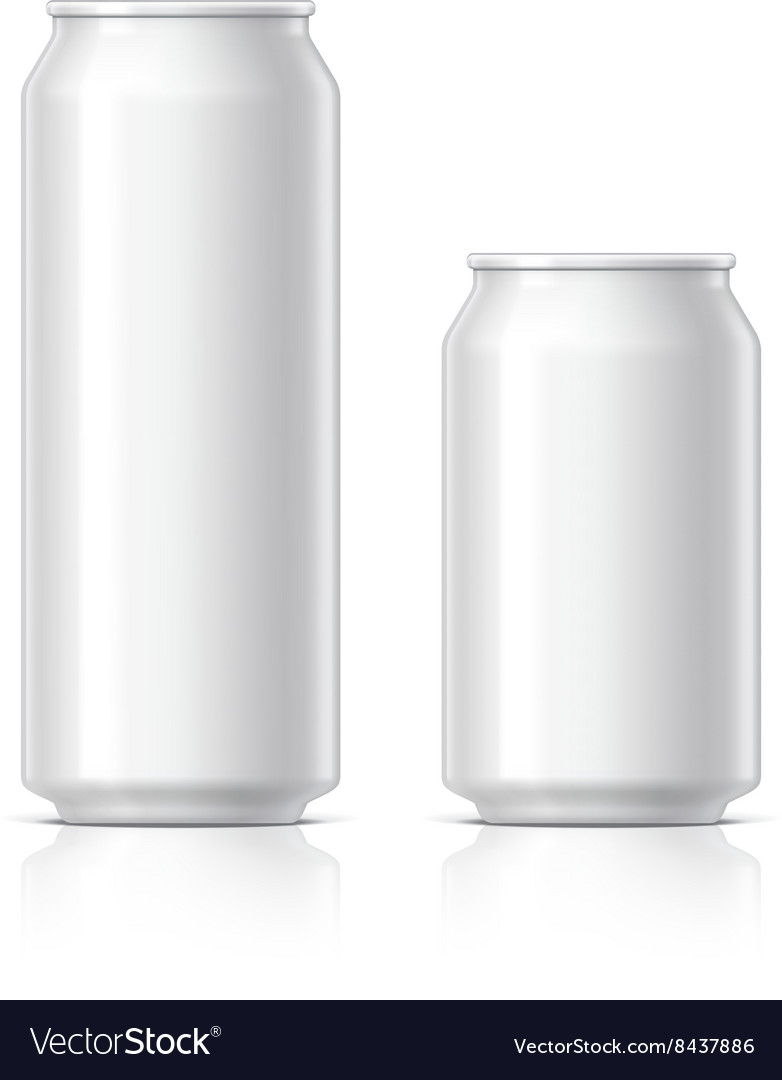Light and shiny aluminum cans