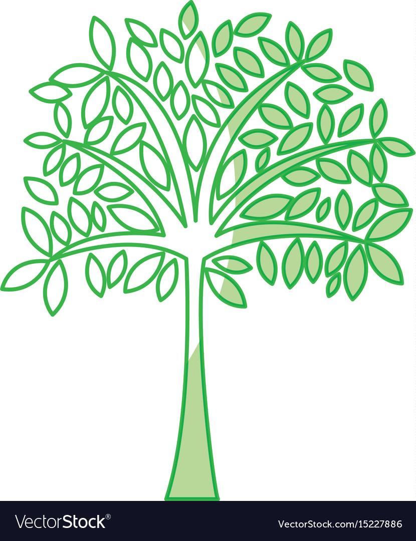 Shadow tree cartoon