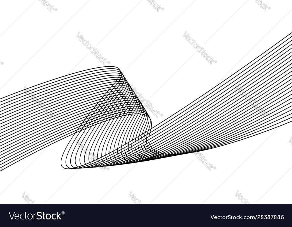 Wavy lines background or curve stripes dynamic