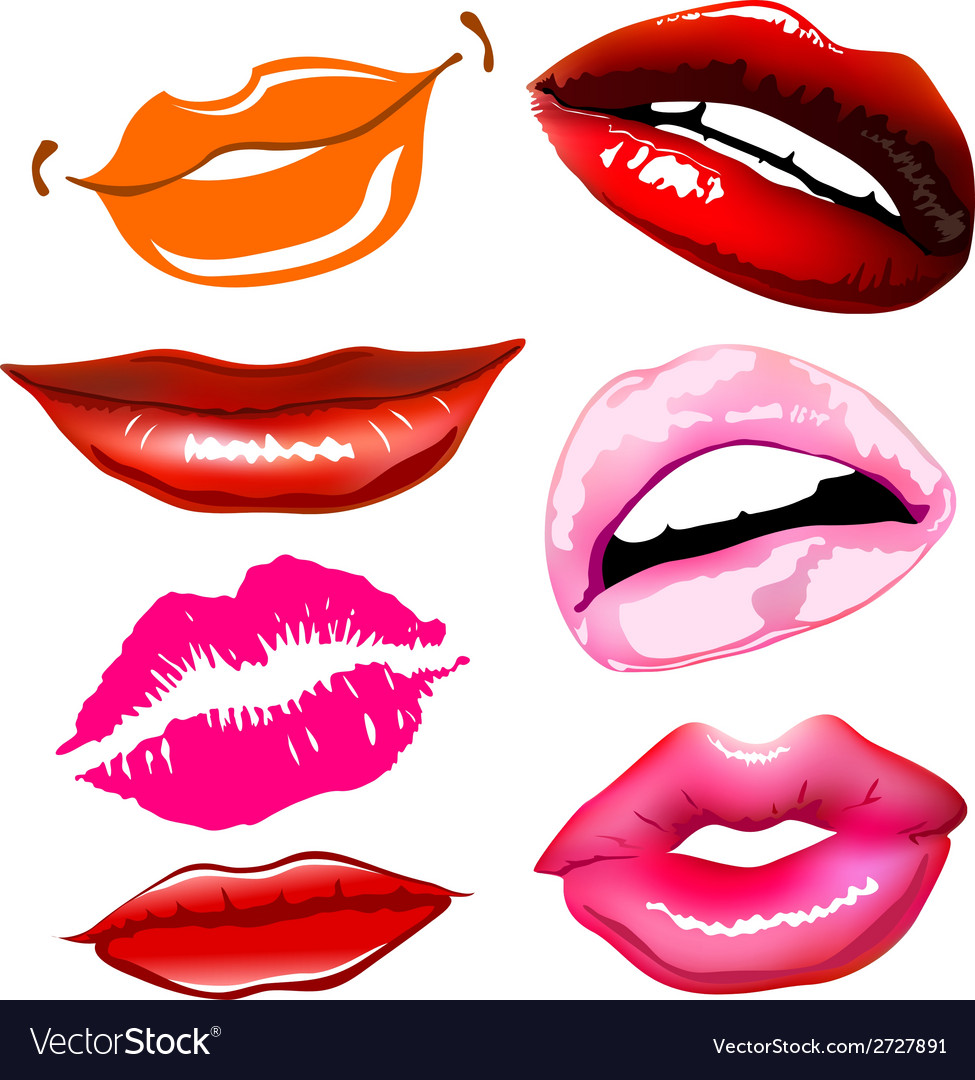 Lips sex pink icon women