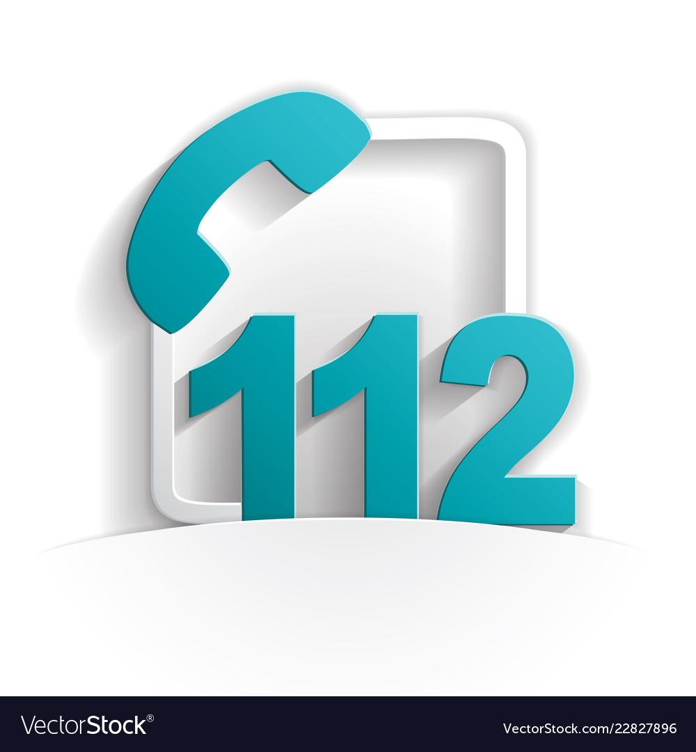 Call 112 icon