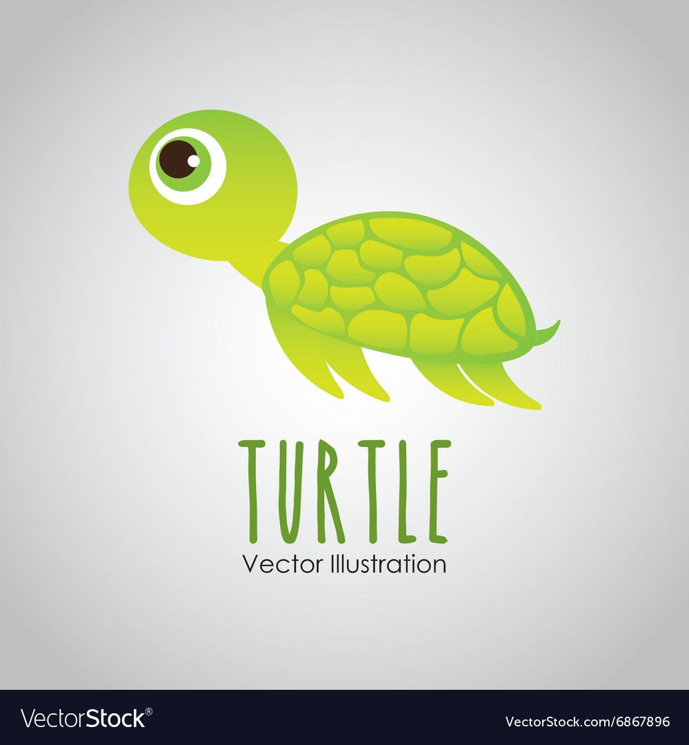 Sea animal design vector image