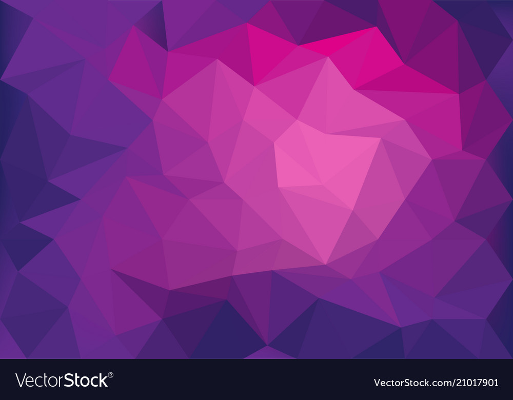 Abstract pink violet light low polygon background