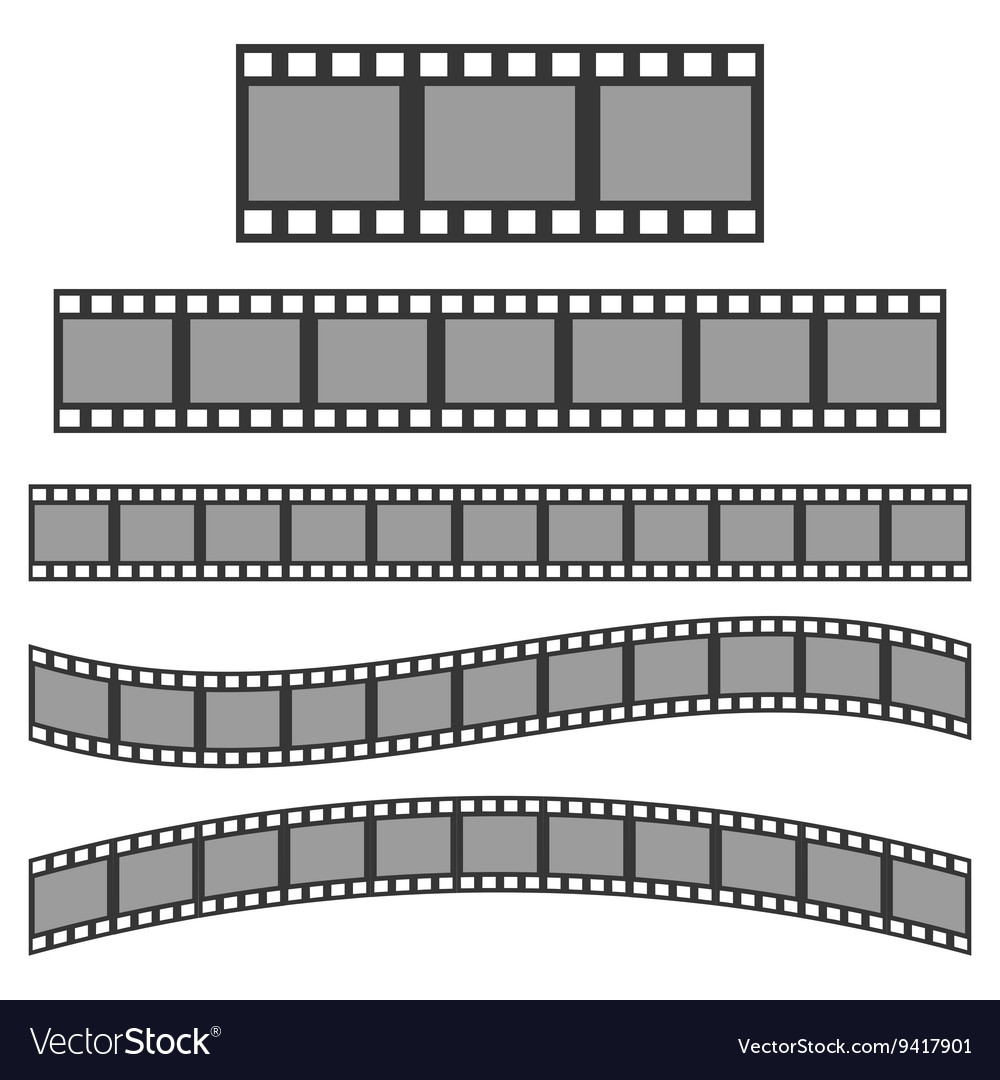 Black film frame