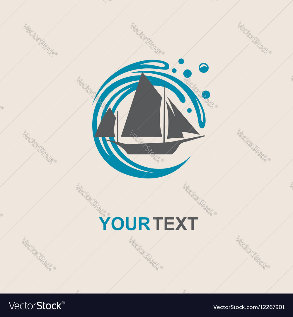 Yacht icon image vector image