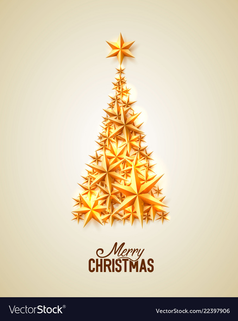 Merry christmas white background Royalty Free Vector Image