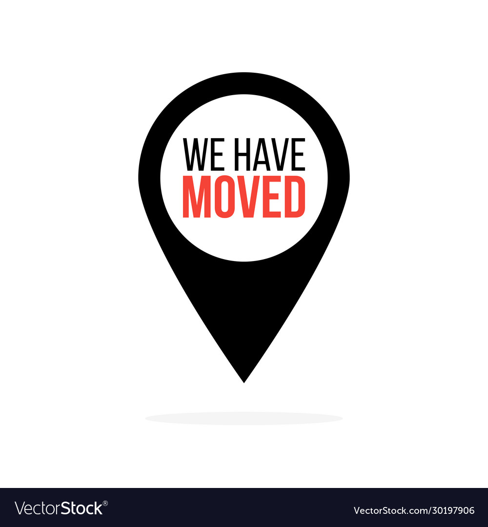We have moved map location pointer black and red