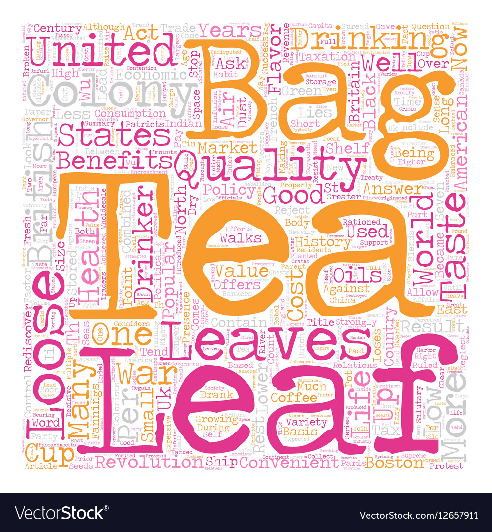 Loose Leaf Tea In The United States A Short