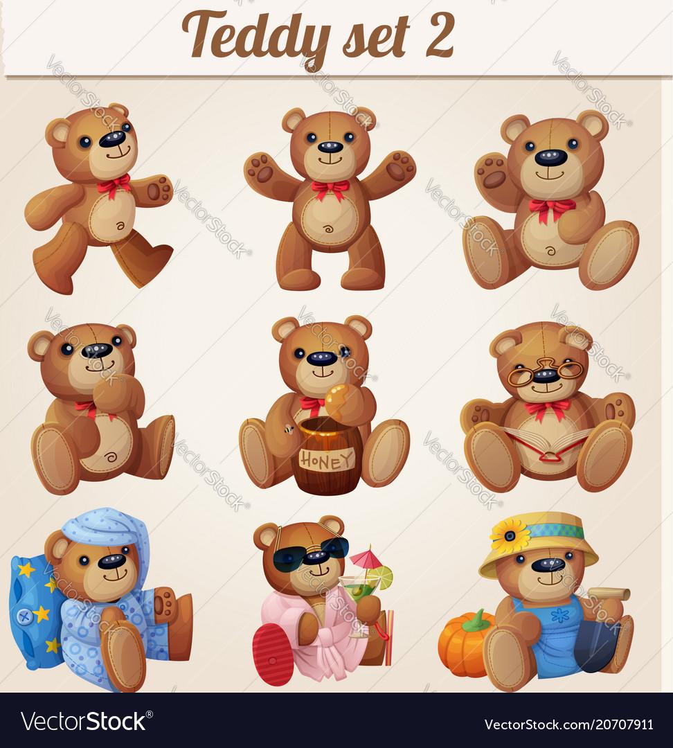 Teddy bears set part 2