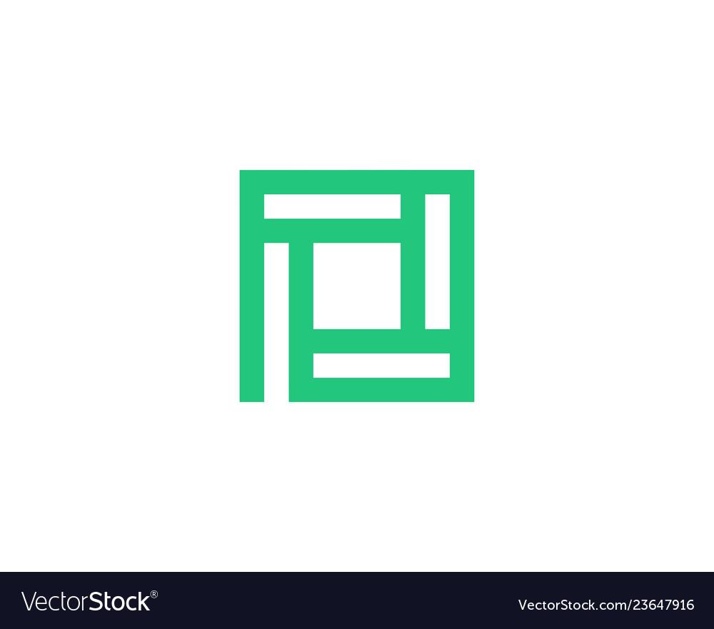 Letter p icon alphabet symbol