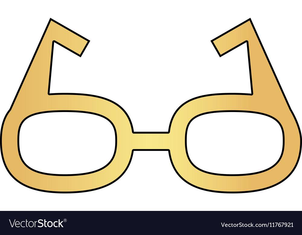 Glasses computer symbol
