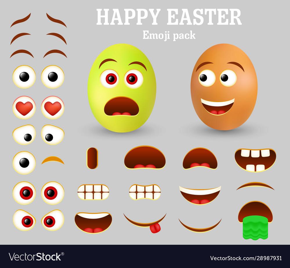 Easter egg emoji maker emoticon creator