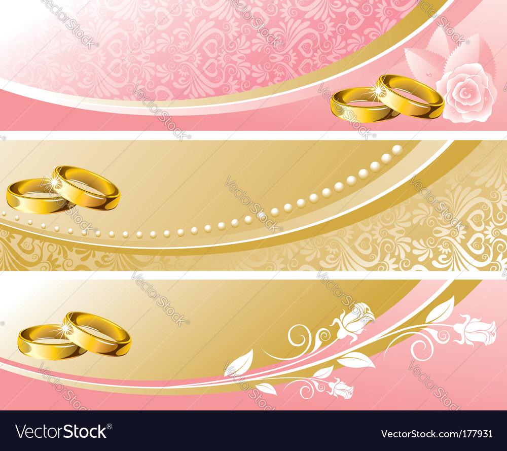 Set Wedding Background