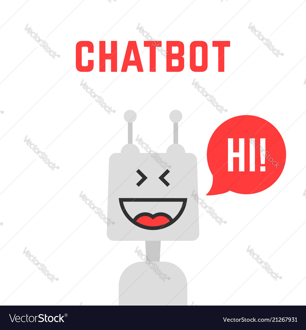 Silver simple chatbot robot like assistant